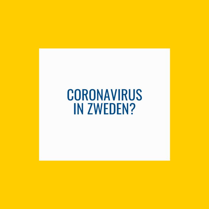 Corona virus in Zweden?