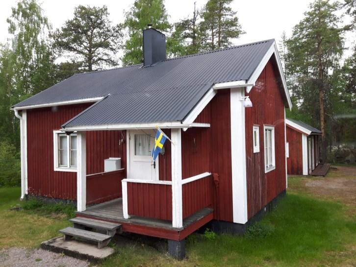Huisjes Zweden rood