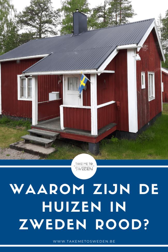 Waarom zijn de meeste huizen in Zweden rood?