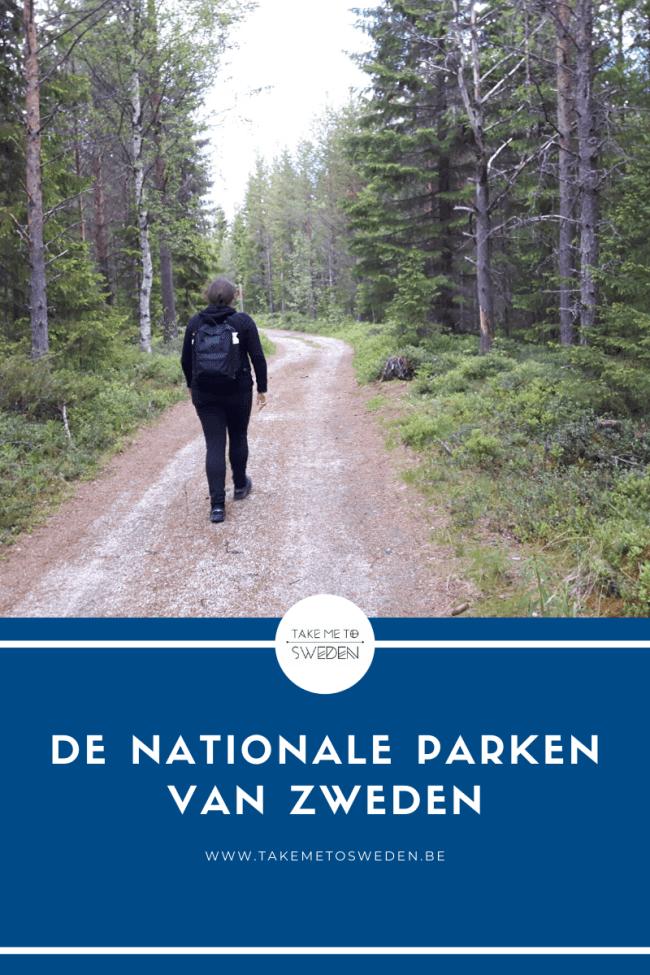 De nationale parken van Zweden