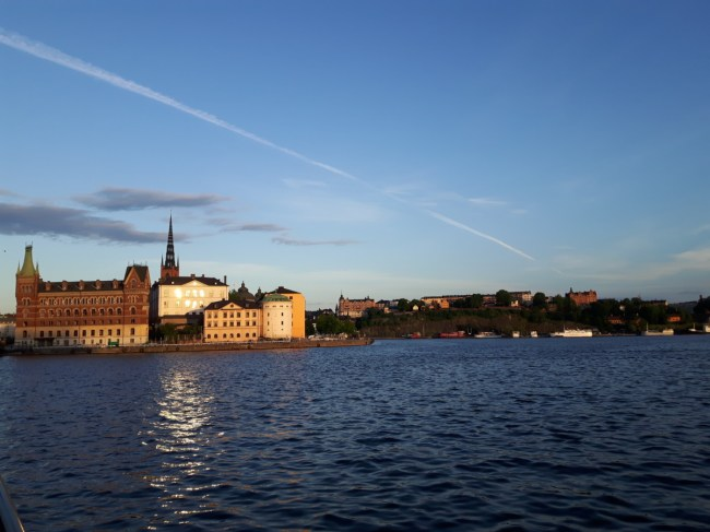 Stockholm on a summer evening - Riddarfjärden