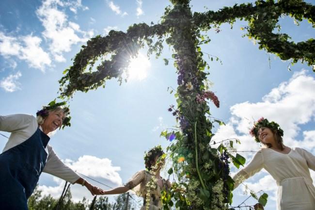 Midzomerfeest - Anna Hållams/imagebank.sweden.se