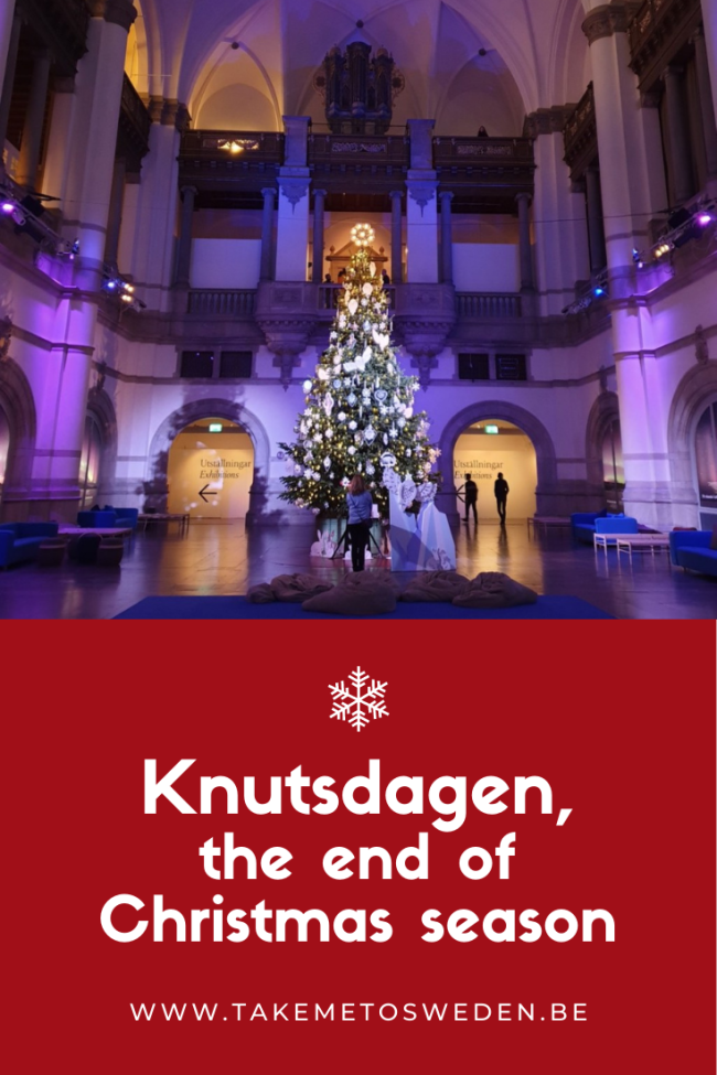 Knutsdagen, the end of the Christmas season