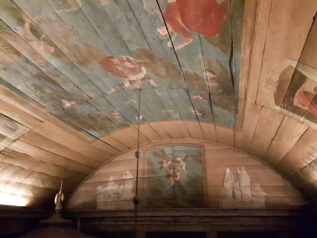 Plafond Bosebo kerk Kulturen Lund