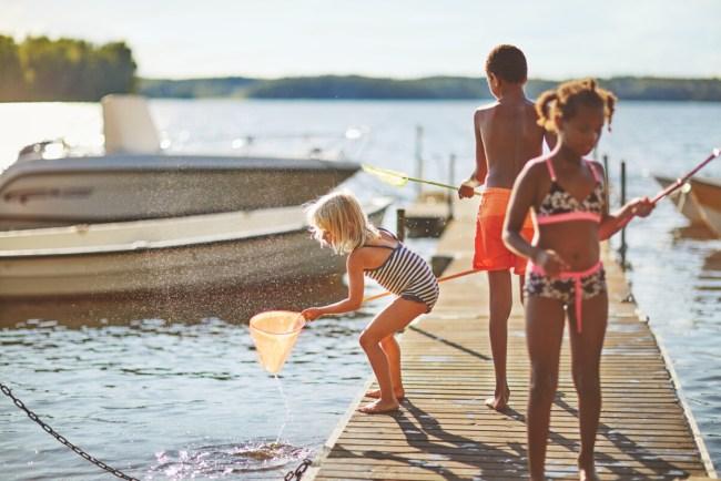 Kinderen op vakantie in Zweden - Gullspång - Clive Tompsett/imagebank.sweden.se