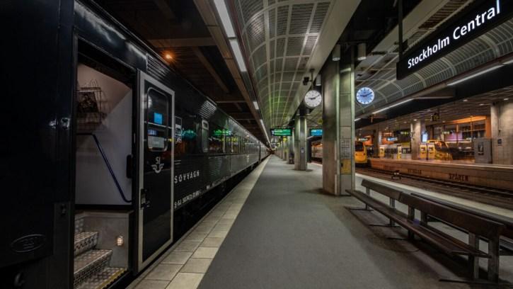 Nachttrein Stockholm - Hamburg SJ