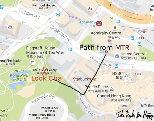 Lock Cha Map