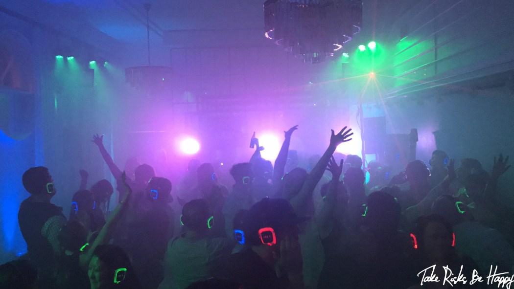 silent rave