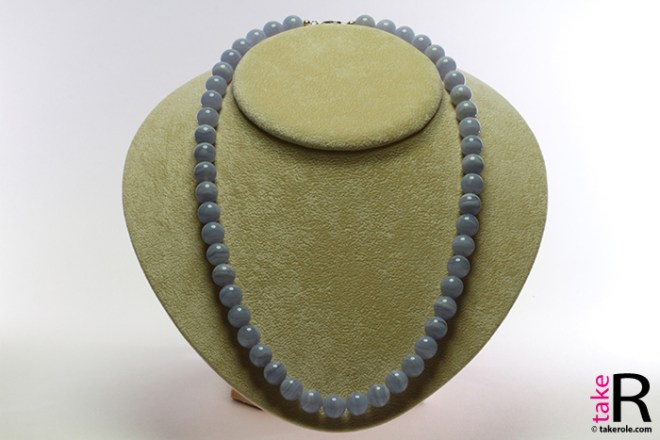 News Jewelry Blue Lace Agate Necklaces