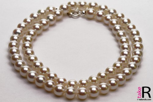 News Jewelry Japanese Akoya Pearl Necklaces