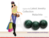 News Jewelry Malachite