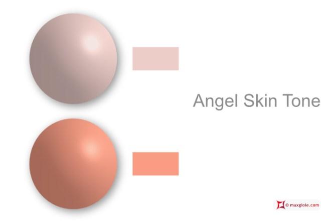 Showcase Coral Pink - Coral Pink Skin Tone Angel - Angel Skin Tone