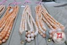 Pink coral angel skin Bokè threads
