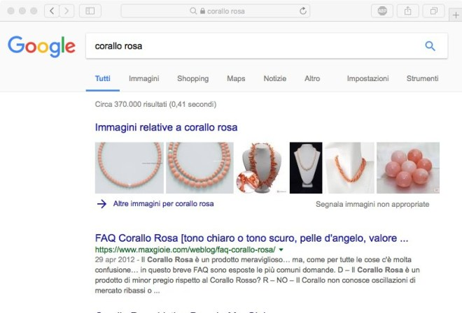 Search Google Pink coral