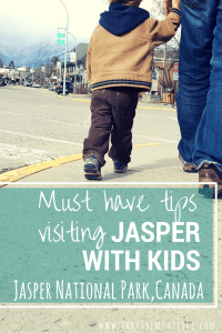 Visiting the town of Jasper (Jasper National Park, Canada)? Check out these local's tips for enjoying town with kids - the parks, the food, the fun... and bathroom stops!