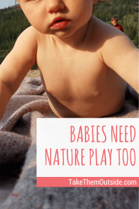 Best Stimulation for Baby | #nature #outdoorplay #babies