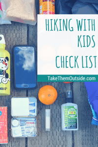 Hiking with kids | Packing tips and check list #hiking #kids