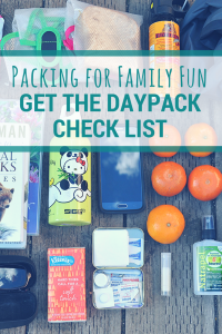 Family Hiking | Packing your daypack for family fun. #hiking #printable
