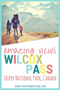 An amazing family hike off the Icefields Parkway is the Wilcox Pass Trail in Jasper National Park | Icefields Parkway in Jasper National Park and Banff National Park, Alberta, Canada | family hike in Jasper | #BanffNationalPark #JasperNationalPark #familyhike #Canada
