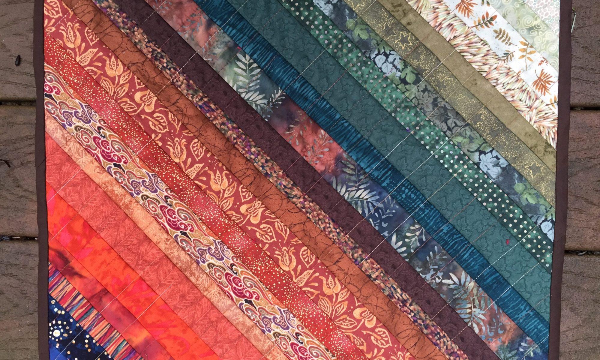 Drying mat strip quilt - 2020
