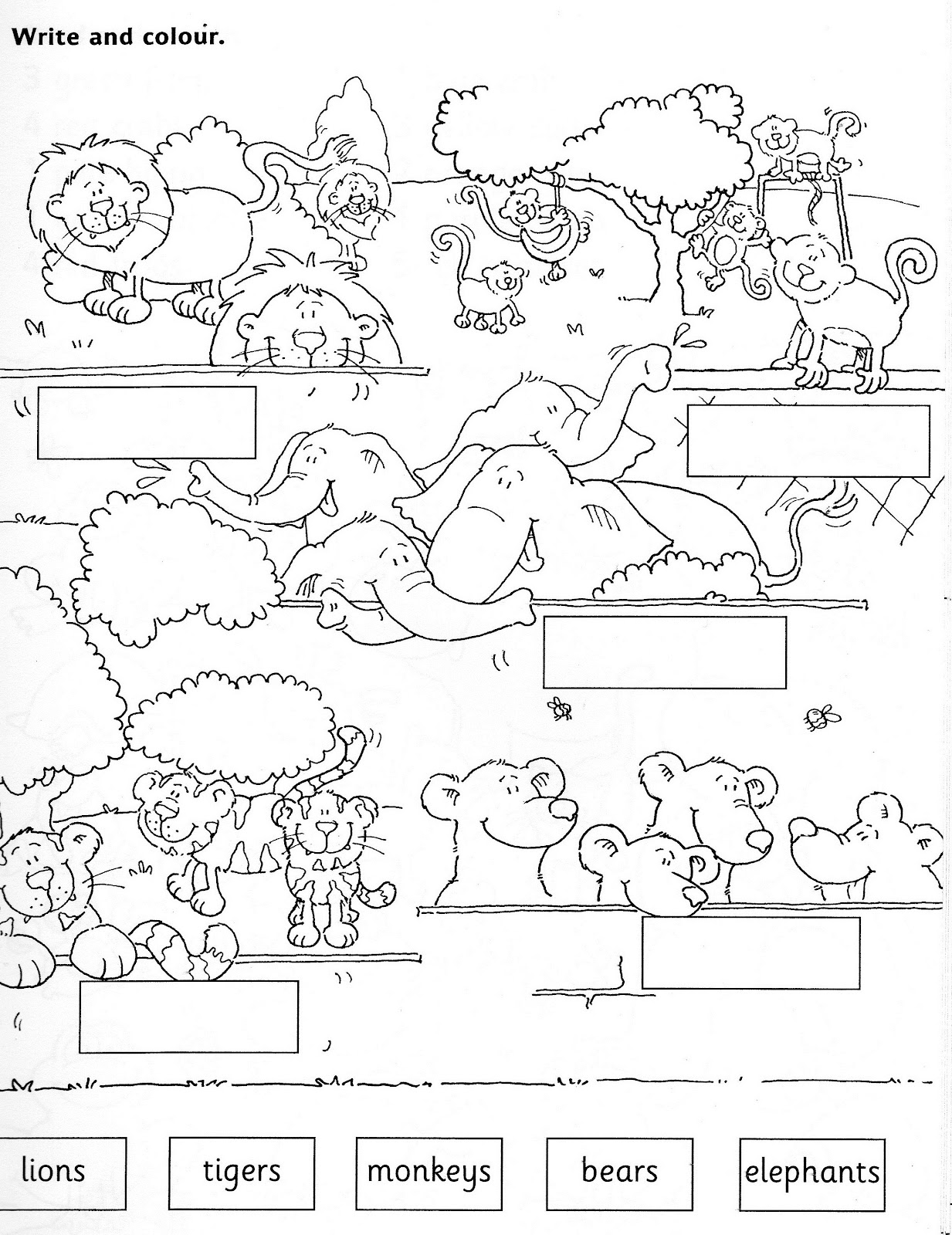 New 826 Zoo Animals Worksheets Printable