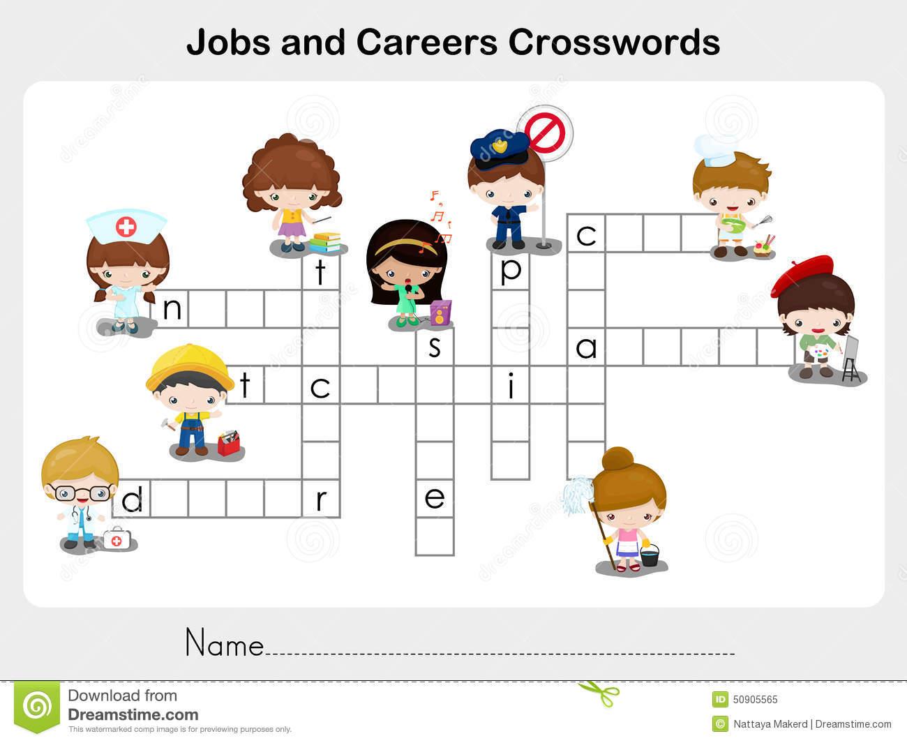 Worksheet Occupation Doc