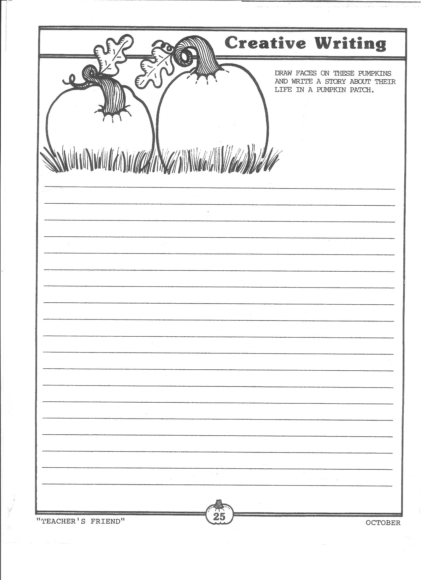 Writing Halloween Storiestake The Pen