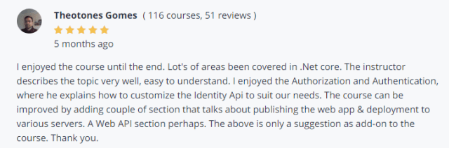 ASP.NET Core 2.0 Reviews