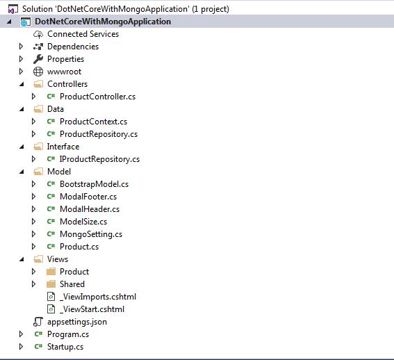 ASP.NET Core 2.0 Solution