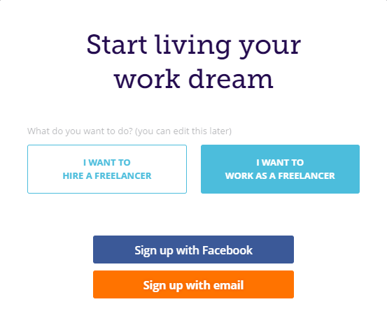 peopleperhour signup selection
