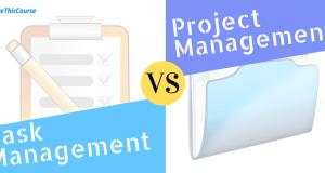 Project Management vs Task Management