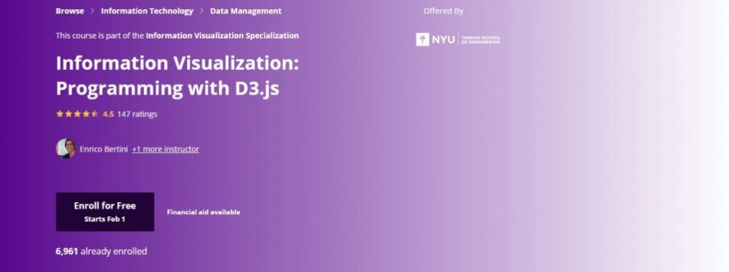 Nyu Programming with D3.js Course