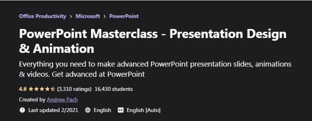 Powerpoint masterclass
