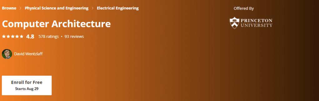Computer Architecture: