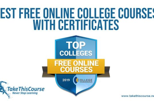Free Online College Courses