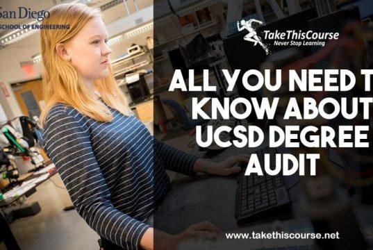 UCSD Degree Audit