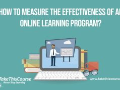 Effectiveness of an Online Learning Program