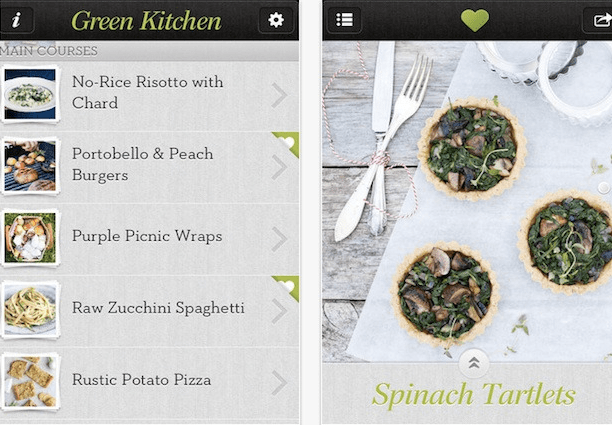 Green Kitchen App