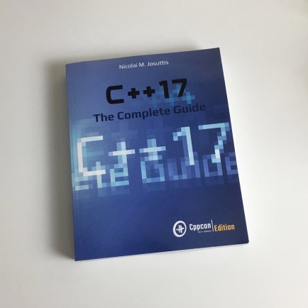 C++17 The Complete Guide Book