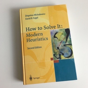 How To Solve It: Modern Heuristics Book