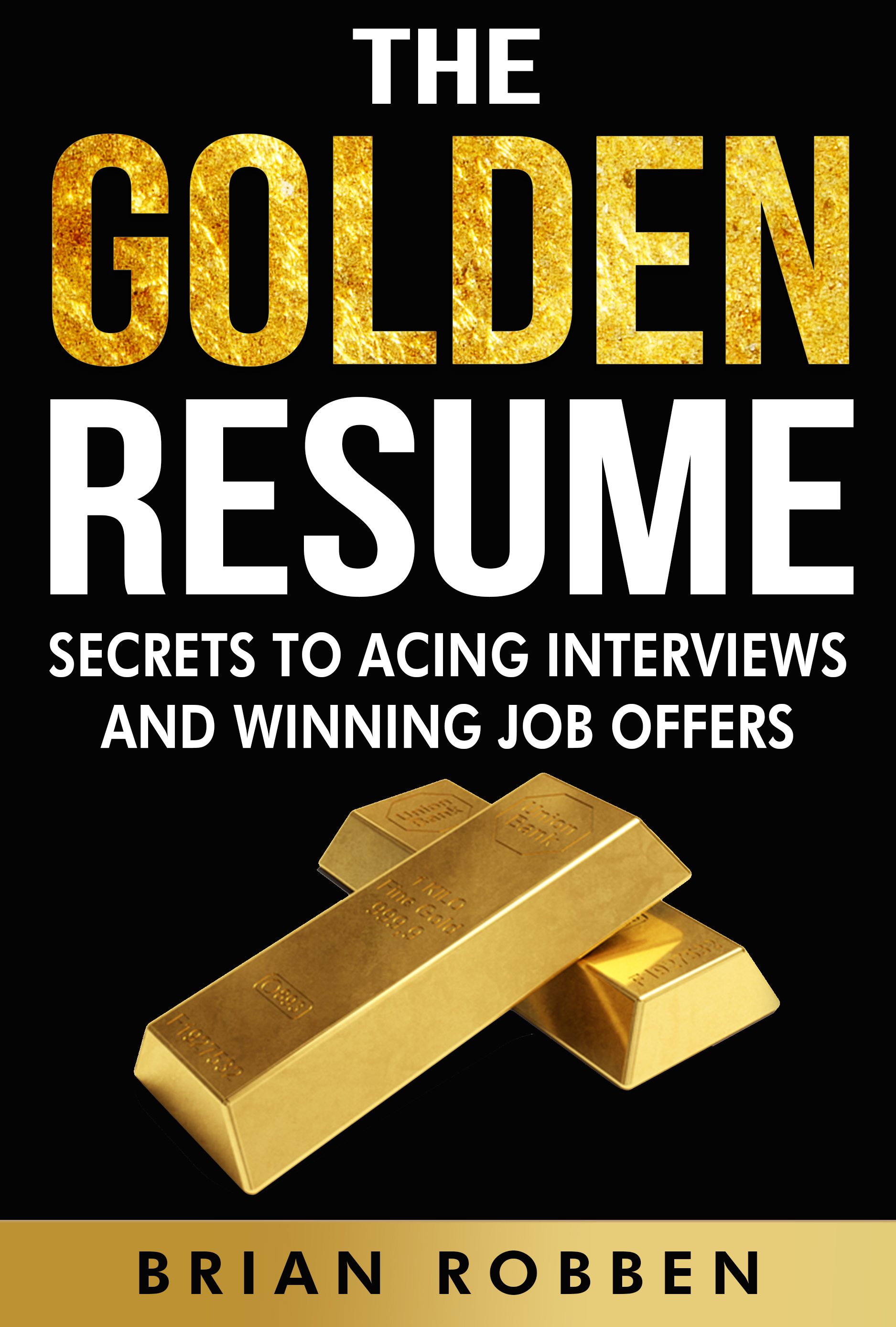 The Golden Resume Book  Resume Book