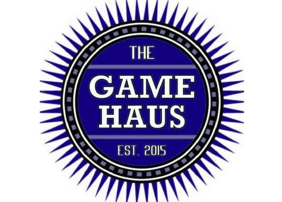Logo of The Game Haus.