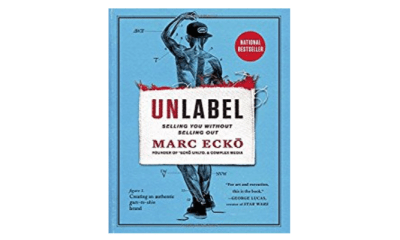 Book cover Unlabel by Marc Ecko.