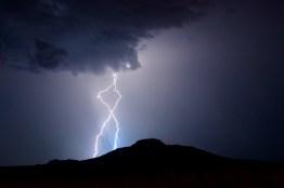 Lightning in Tucumcari, NM