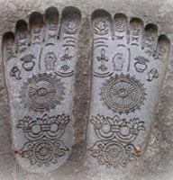 feet imprints
