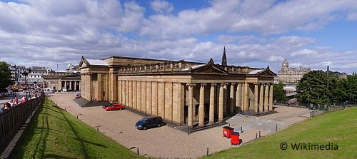 weekend in edinburgh national gallery scotland takingtotheopenroad peggytee wikimedia