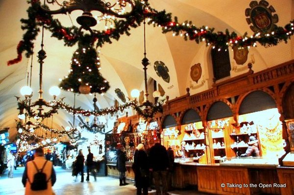 3 days in Krakow Cloth Hall Taking to the Open Road Peggy Tee