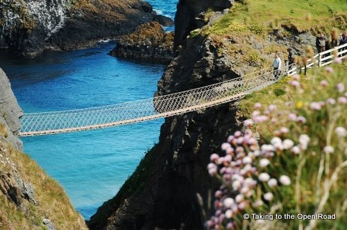 2 days in belfast carrick a rede rope bridge taking to the open road peggy tee