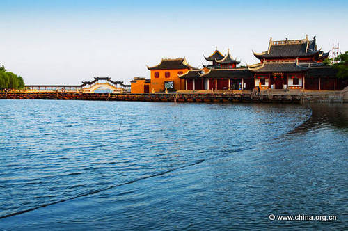 china jinxi water town taking to the open road peggy tee china org cn
