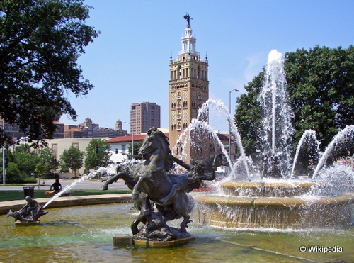 kansas city JC_Nichols_Fountain taking to the open road peggy tee wikipediea